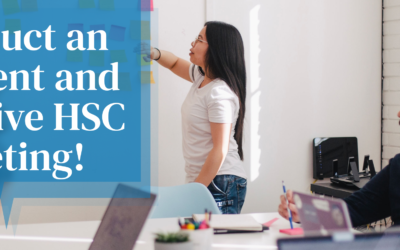 Infographic: Conduct an efficient and effective HSC meeting!