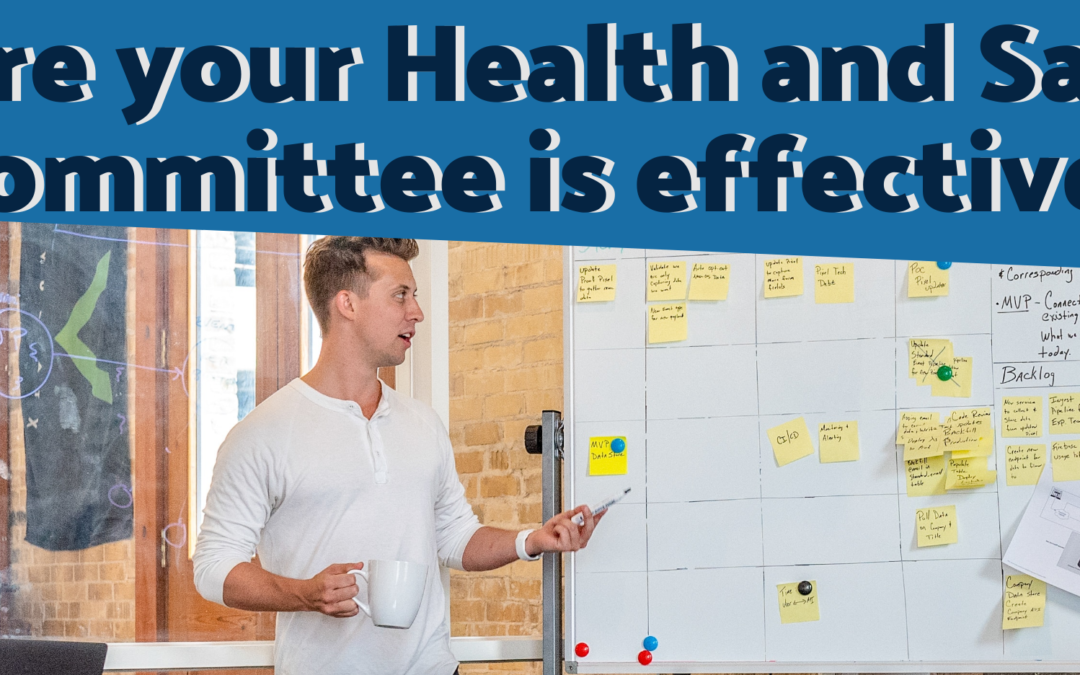 Infographic: Ensure your Health & Safety Committee is Effective!