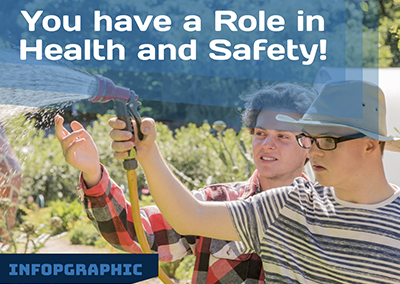 Infographic: You have a role to play in health and safety!
